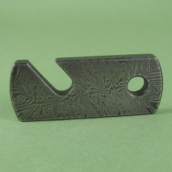Damascus steel bottle opener DSBO 1