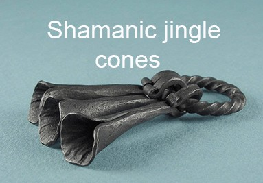 Shamanic jingle cones